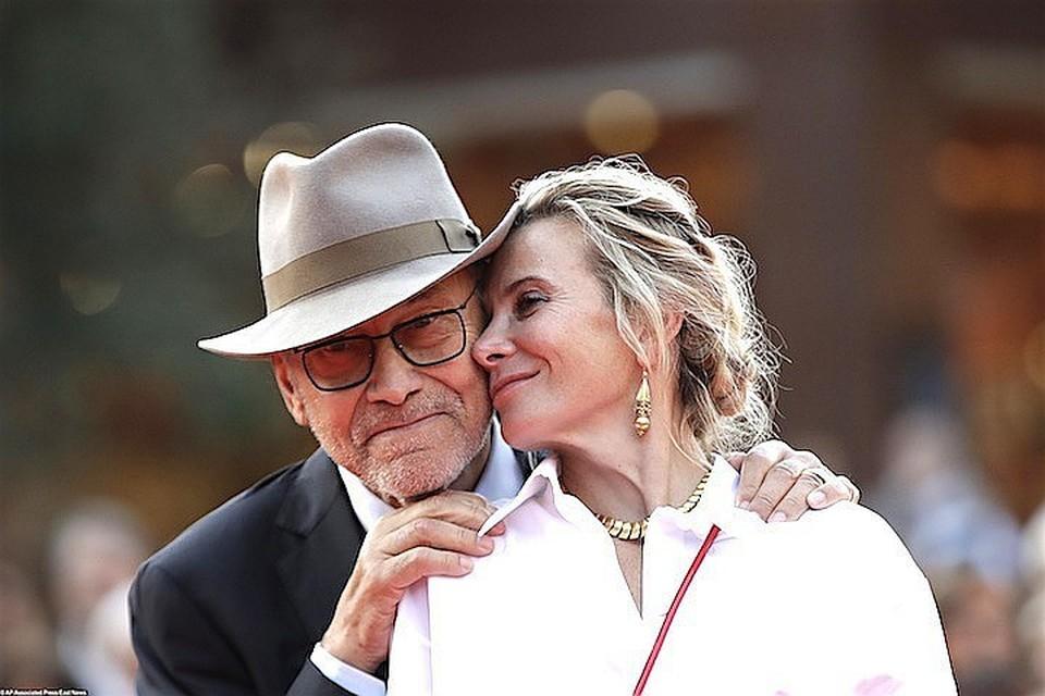 Андрей Кончаловский и Юлия Высоцкая вместе уже 24 года.
