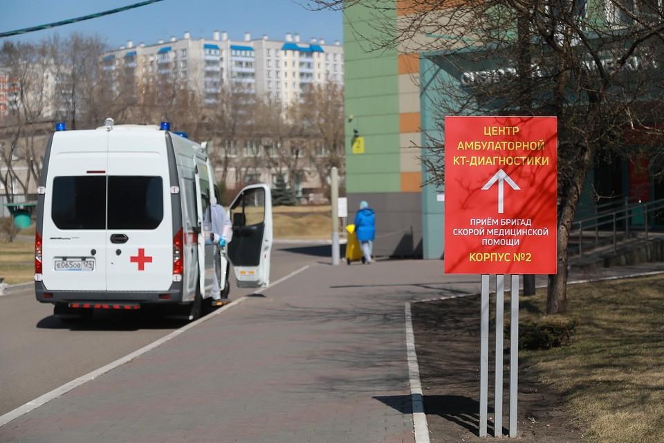 Вторая волна коронавируса в Красноярске 2020.