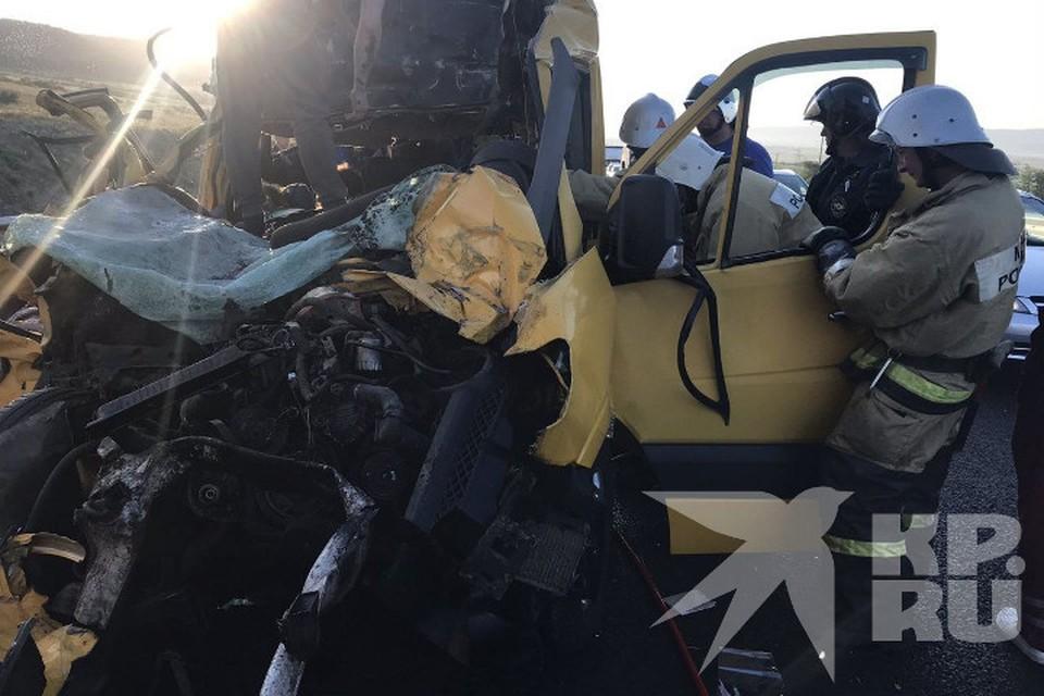 Фото предоставлено очевидцами происшествия