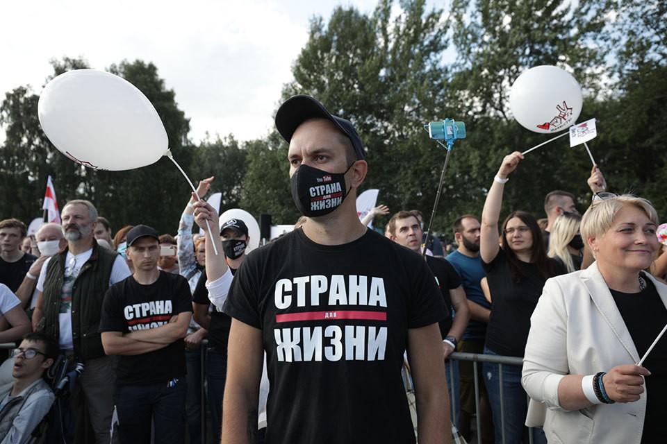 30 июля в Минске прошел многотысячный митинг против действующего президента.