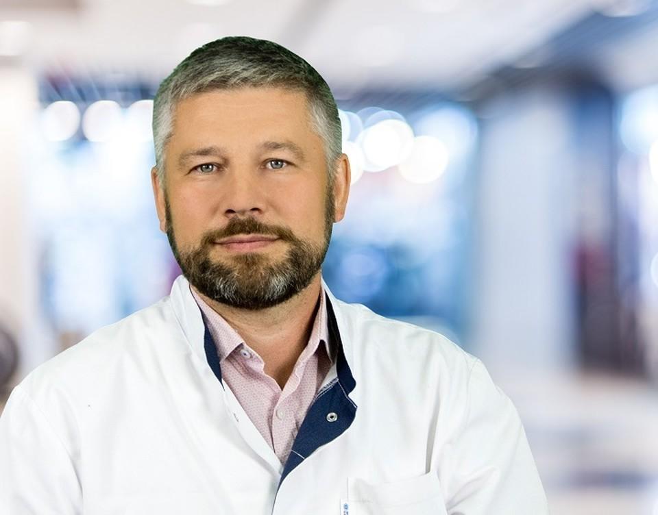 Игорь Люлин. Фото: Краснодарская инфекционная больница