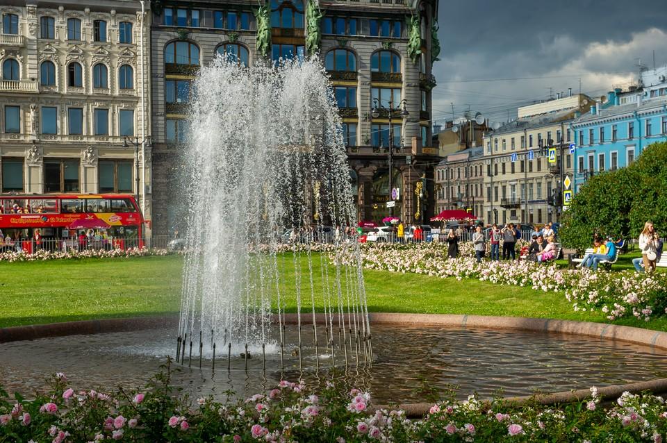 День Воздушно-десантных войск прошел благополучно для фонтанных комплексов Петербурга