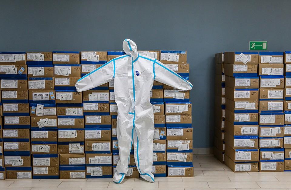 Более 100 тысяч штук респираторов и защитных костюмов, более 1 миллиона масок есть в Приморье