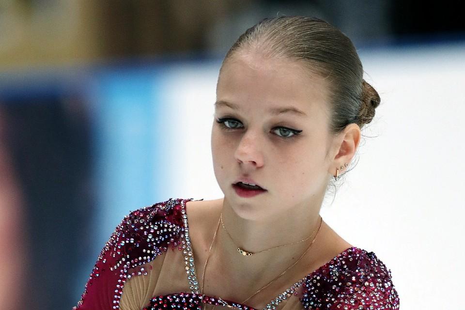 Александра Трусова весной сменила своего тренера, уйдя из команды Этери Тутберидзе к Евгению Плющенко.