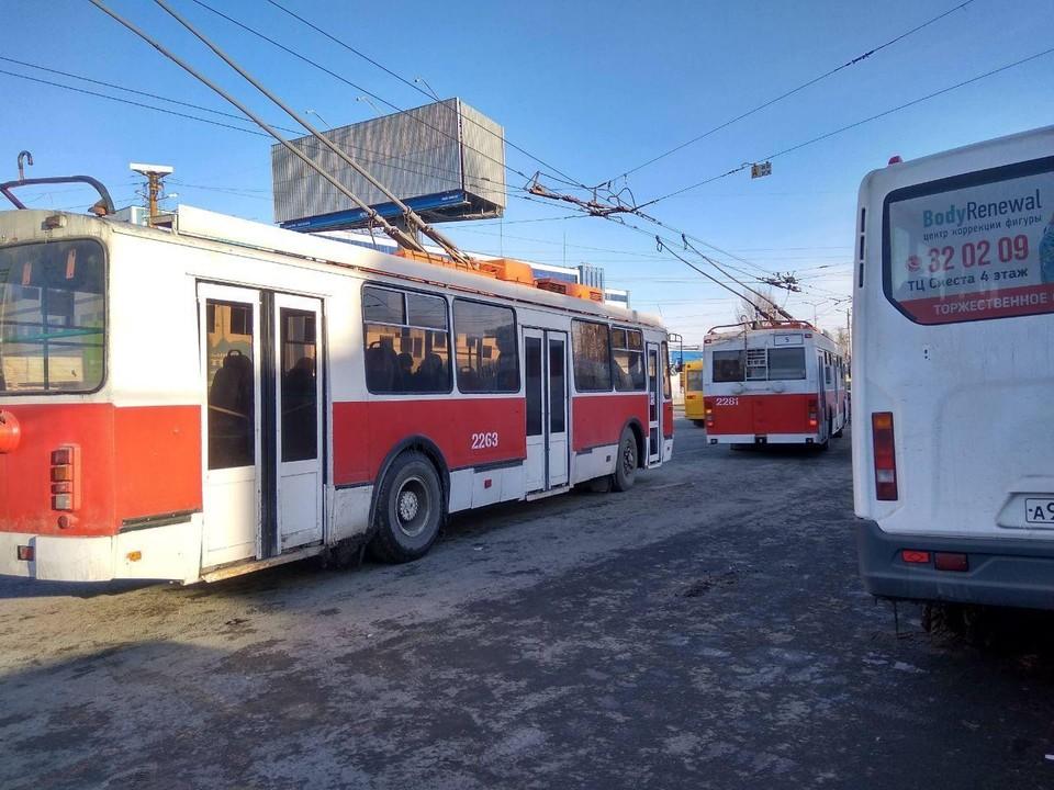 Электротранспорт обслуживает все меньше саратовцев