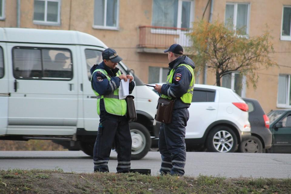 Угонщика поймал патруль ГИБДД