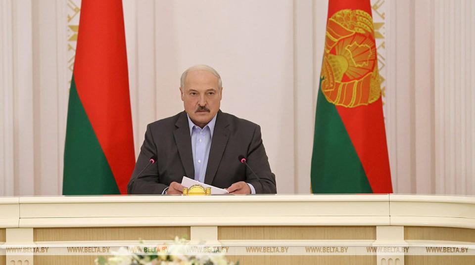 Лукашенко заявил, что выборы пройдут в соответствии с законодательством. Фото: БелТА