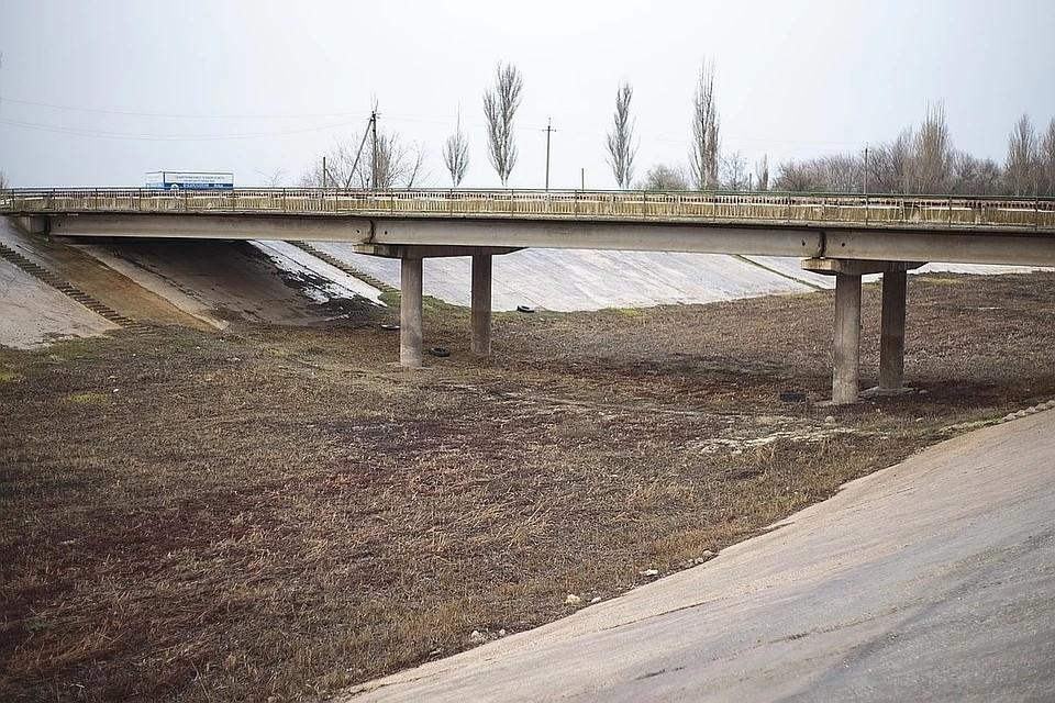Северо-Крымский канал готов принять днепровскую воду.