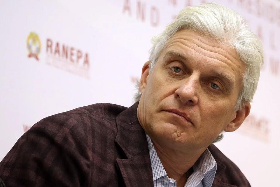 Бизнесмен Олег Тиньков. Фото: Станислав Красильников/ТАСС
