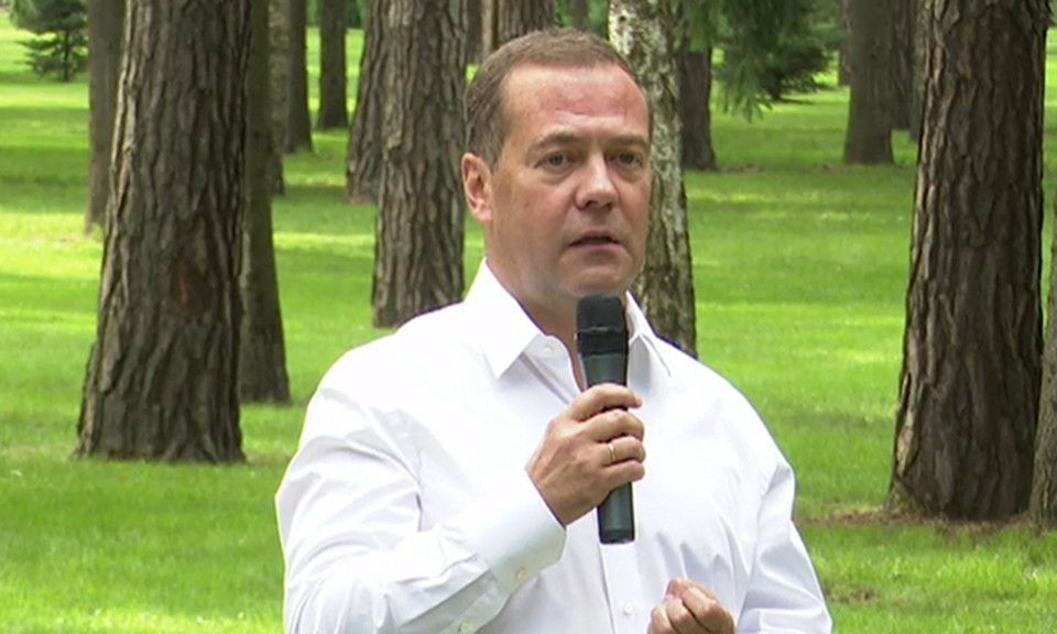 Медведев высказался о Беларуси. Фото: er.ru
