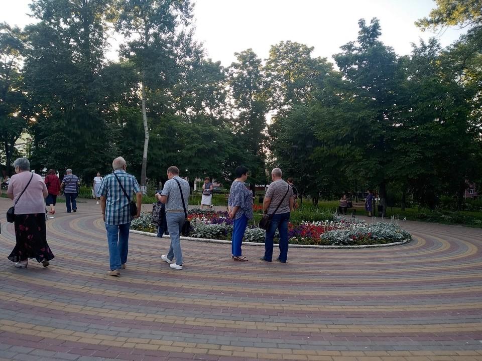 В Детском парке Курска состоятся Всероссийские массовые соревнования по уличному баскетболу