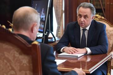 Виталий Мутко рассказал Владимиру Путину о переходе трети застройщиков на проектное финансирование