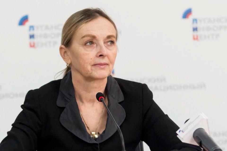Кобцева отметила, что Киев затягивает с составлением списков. Фото: ЛИЦ