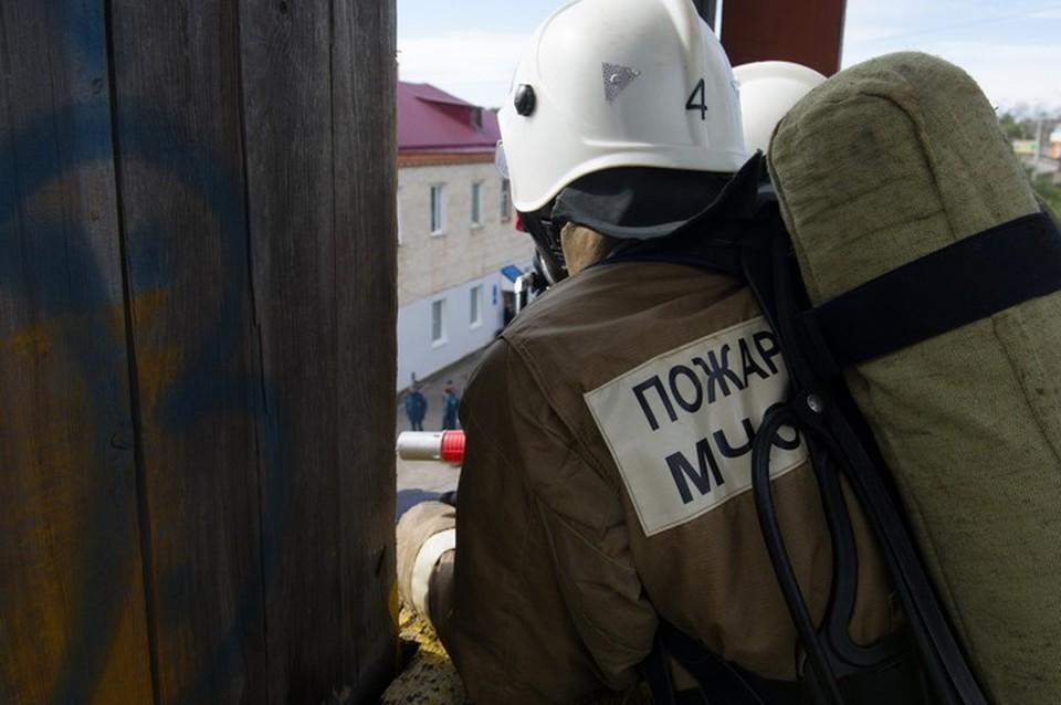 В Комсомольске-на-Амуре едва не сгорел яхт-клуб