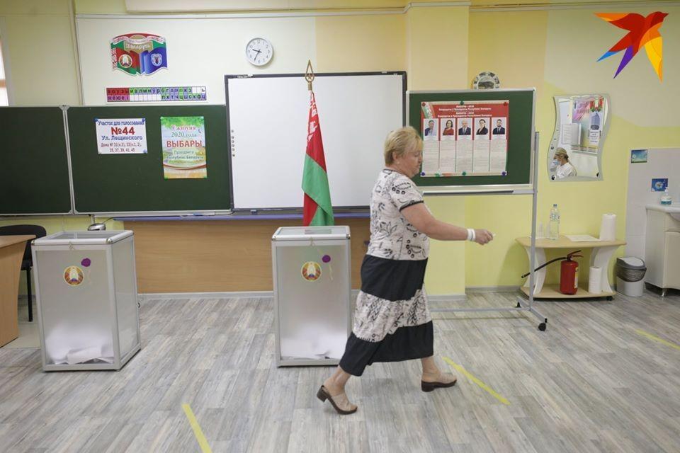 Явка избирателей на президентских выборах на 18.00 составила 79%