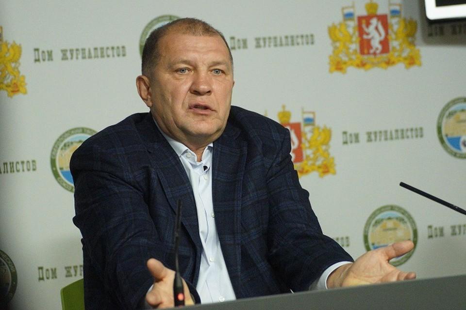 Главного арбитра матча Василия Казарцева уже отстранили от работы