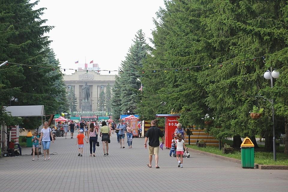 Красноярский Центральный парк ждет глобальная реконструкция