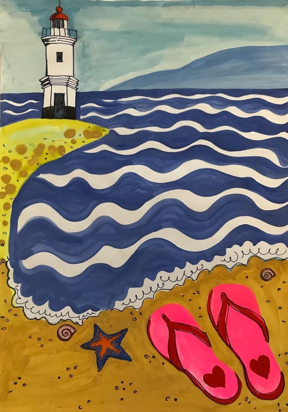 Морская тема будет главной на предстоящем мастер-классе. Фото: primgallery.com
