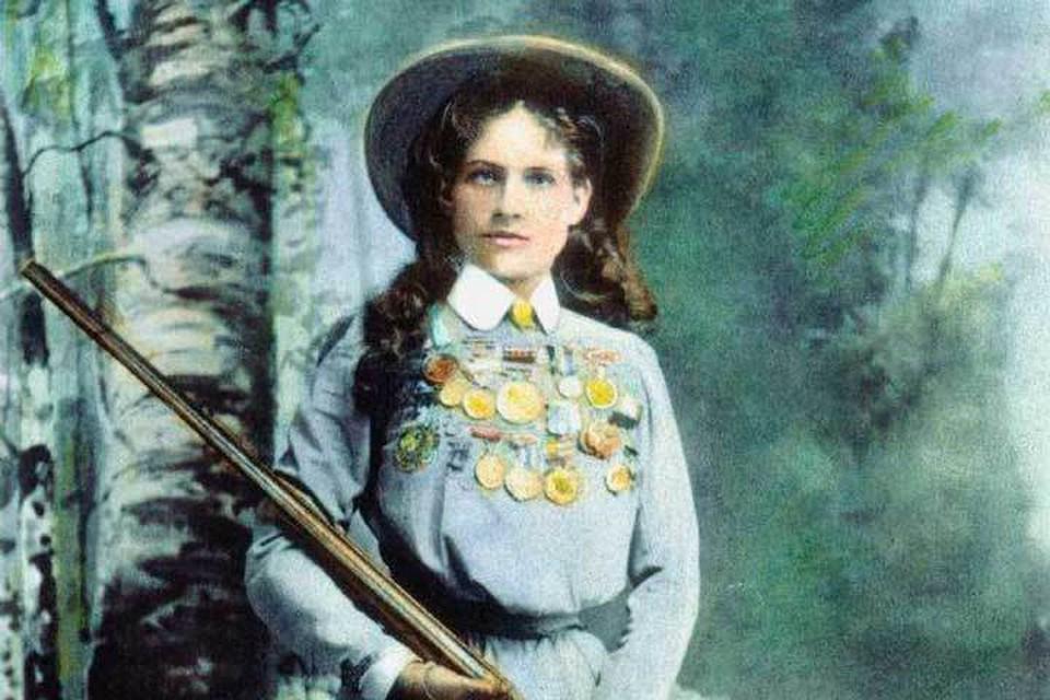Энни Оукли, женщина-стрелок