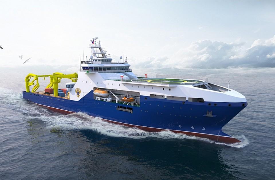 """ССК """"Звезда"""" получил заказ на постройку двух научно-исследовательских судов"""