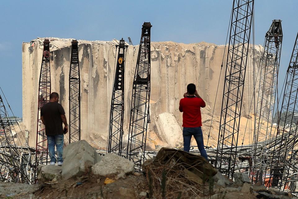 Бейрутский порт оказался полностью разрушен