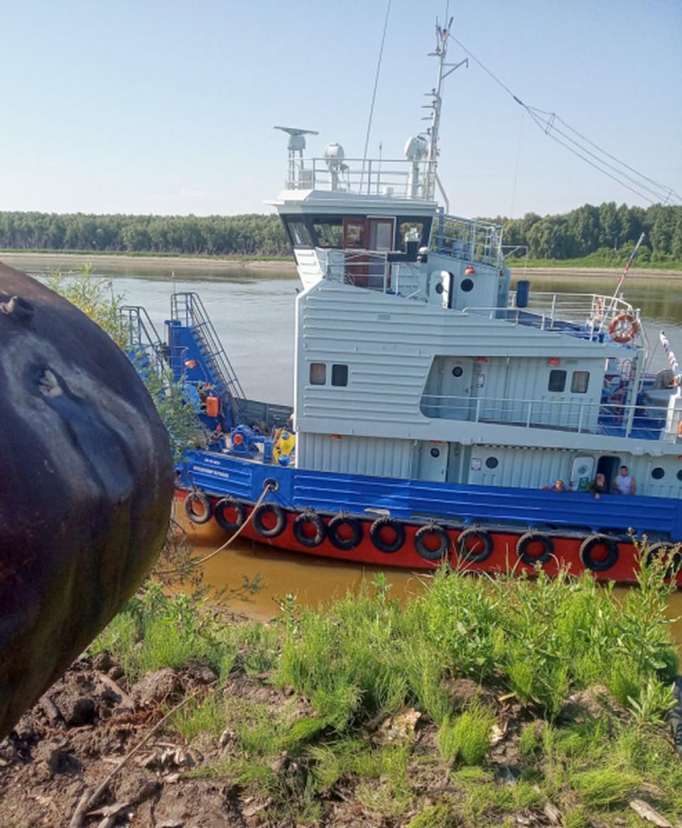 Капитан постоянно экономил на обогреве судна в северных районах. Фото: Пресс-служба ЛУ МВД России по Омской области