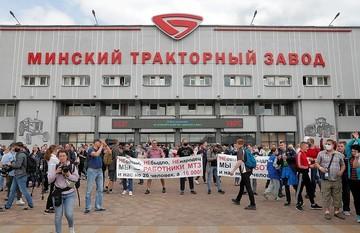 Александр Коц - из Минска: То, что к протестам начали присоединяться заводчане, очень тревожный звоночек для власти