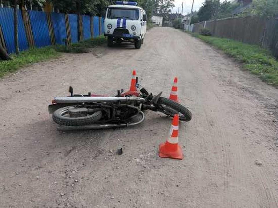 Фото с места аварии. Фото: ГИБДД по Тверской области