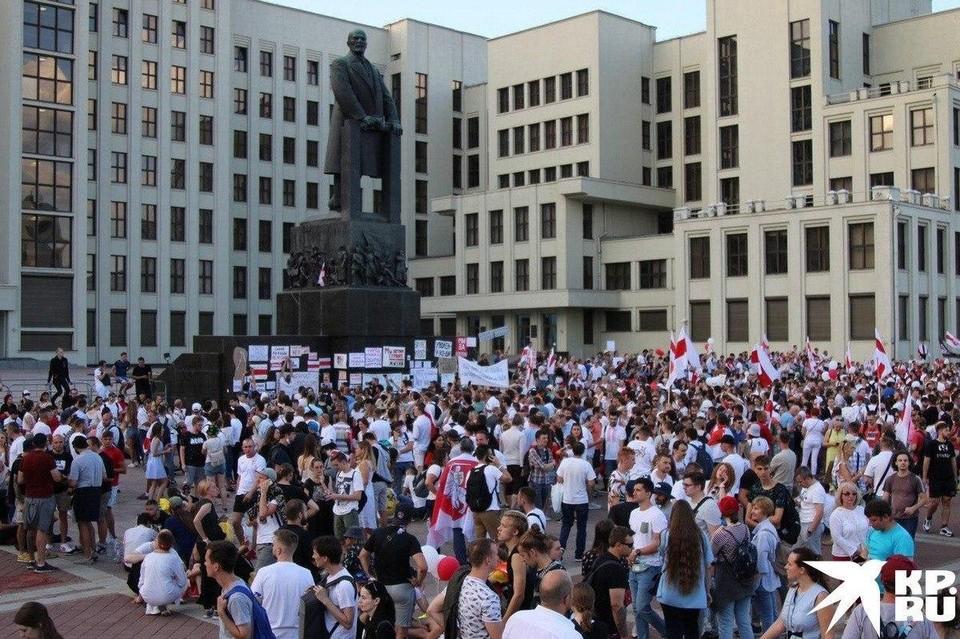 Евросоюз заявил о солидарности с народом Белоруссии