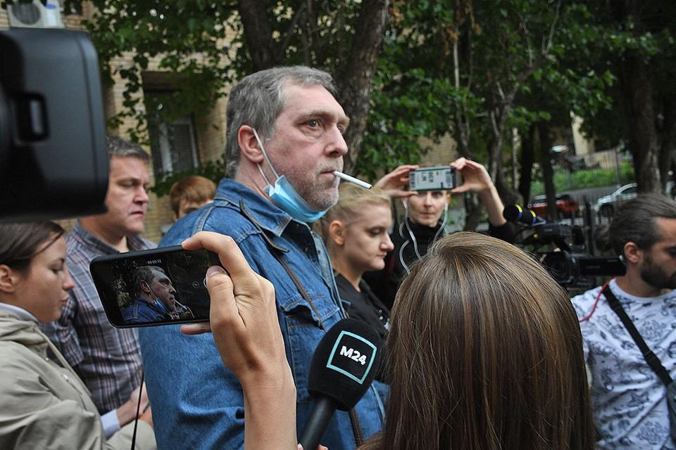 Никита Высоцкий выступил в суде в качестве свидетеля смертельного ДТП