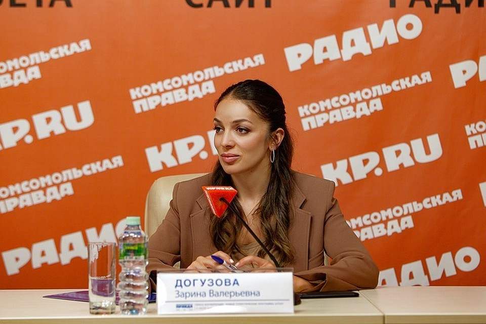 Глава «Ростуризма» Зарина Догузова.