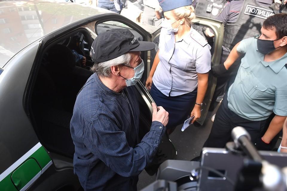 Ефремов заявил, что шёл в суд за правдой, а встретил свидетелей, меняющих свои показания, и высмеивание его эксперта