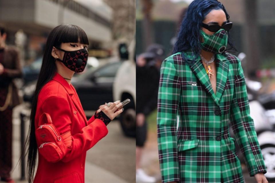 Мода-2020: главный тренд сезона - маска. Фотоколлаж: Виктория Лежнина