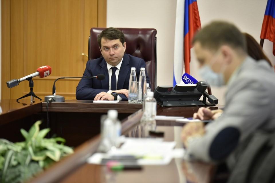 Виновные в срывах работ на целом ряде объектов понесли наказание по требованию главы региона. Фото: Правительство Мурманской области