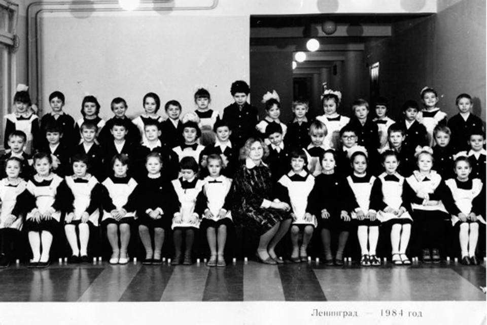 В классе Анны Кудряшовой было 50 человек! Здесь он не в полном составе.