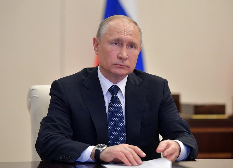 Владимир Путин в День знаний по видеосвязи примет участие во всероссийском открытом уроке