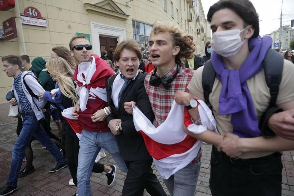 Бунт студентов в Минске провалился