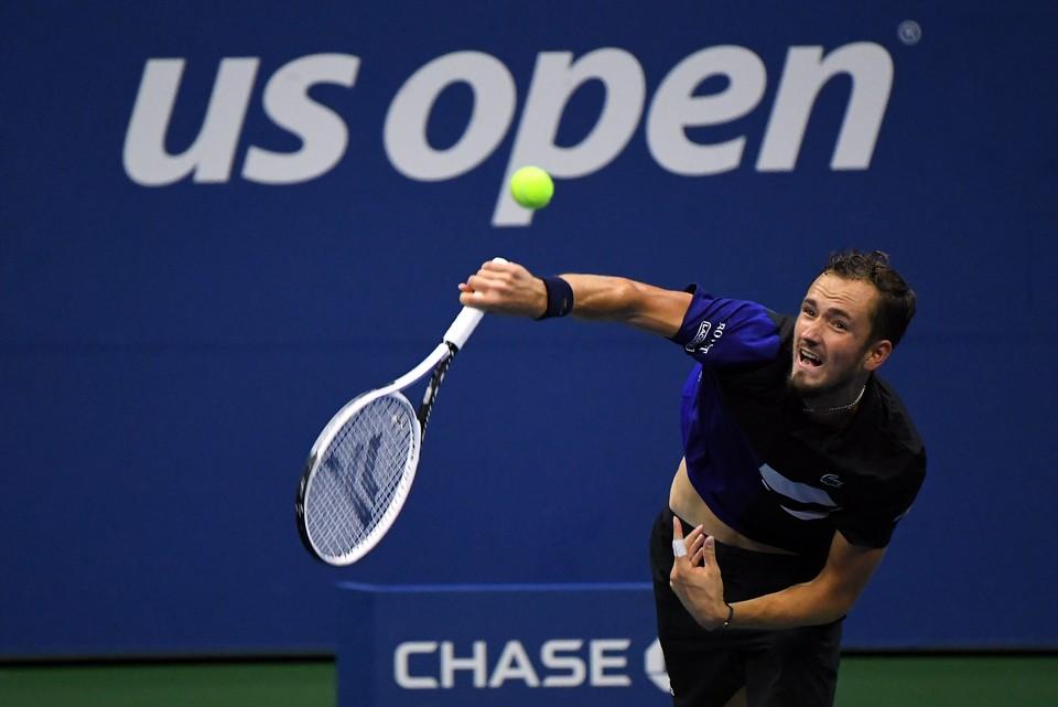 Даниил Медведев - один из фаворитов US Open