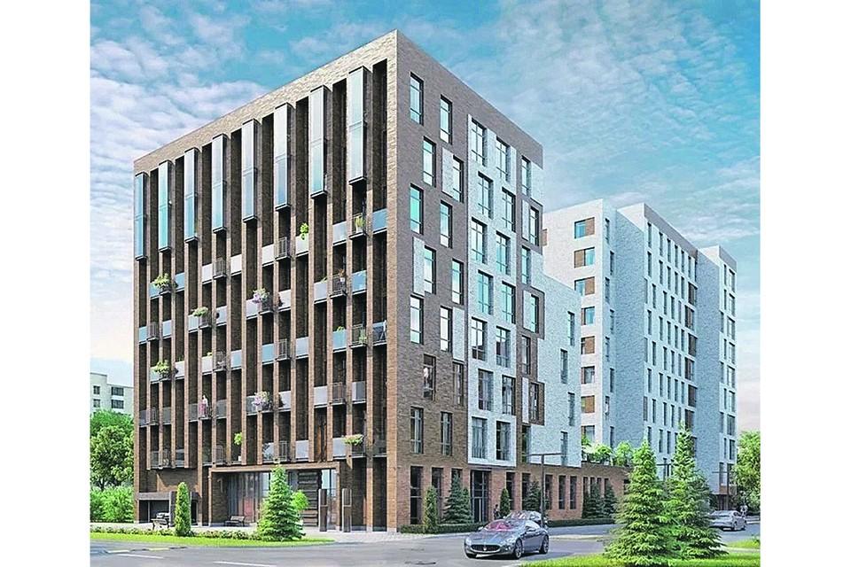 """Визуализация BIM-модели проекта здания. Фото: ИД """"Строительный Эксперт"""""""