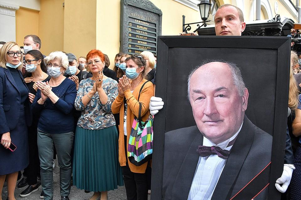 В Москве простились с народным артистом Российской Федерации Борисом Клюевым.