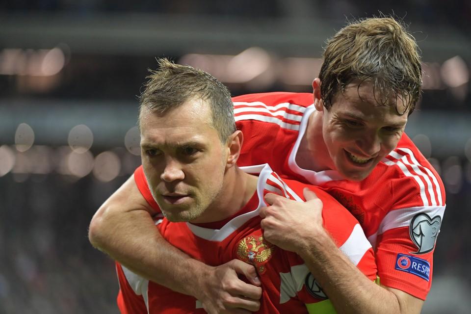 Дзюба будет играть в основном составе наших в матче с Венгрией.