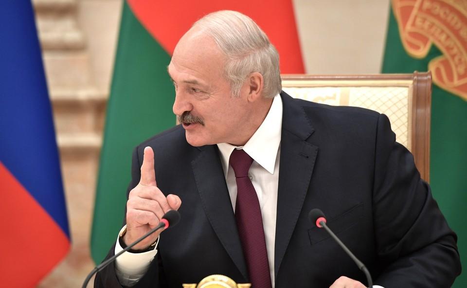 Лукашенко назвал организаторов протестов в Республике