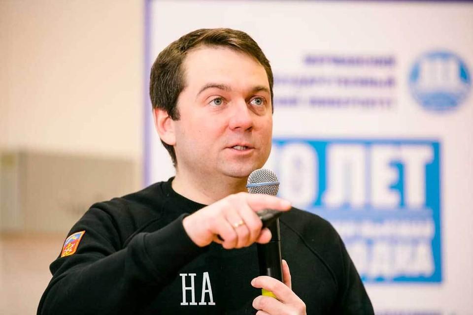 Андрей Чибис предложил на форум «Сильные идеи для нового времени» свой проект по развитию Мурманского государственного технического университета.