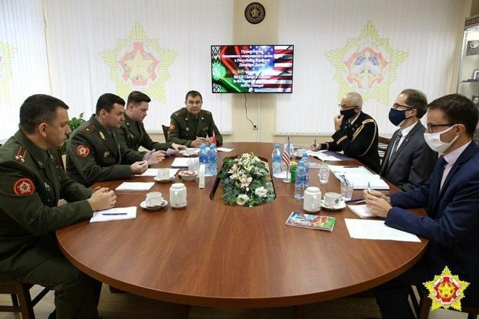 Представители США попросили Минобороны Беларуси о встрече. О чем шла речь?
