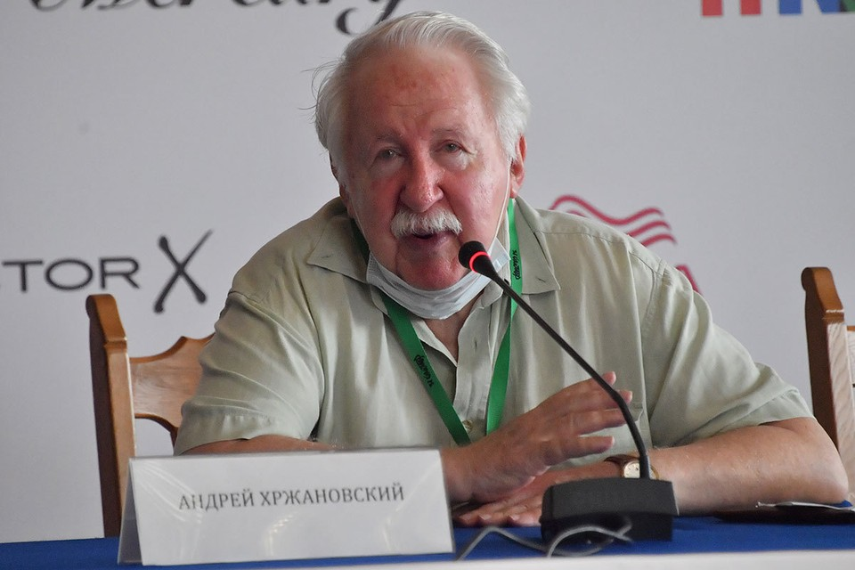 Главным героем церемонии открытия стал 80-летний Андрей Хржановский, получивший приз за вклад в киноискусство.