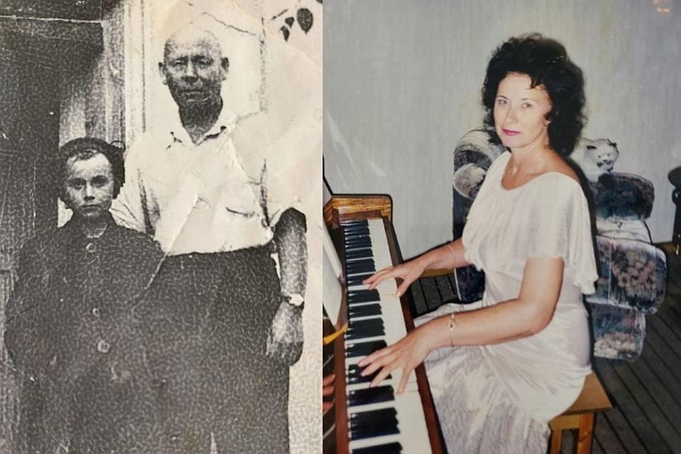 Мечта Татьяны найти семью дяди (на фото слева она с ним) сбылась. Фото: личный архив.