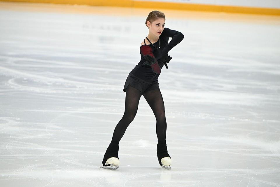 Фигуристка Алена Косторная