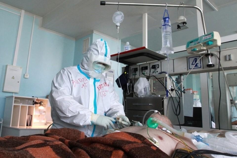 В волгоградских больницах много тяжелых пациентов с ковидом.