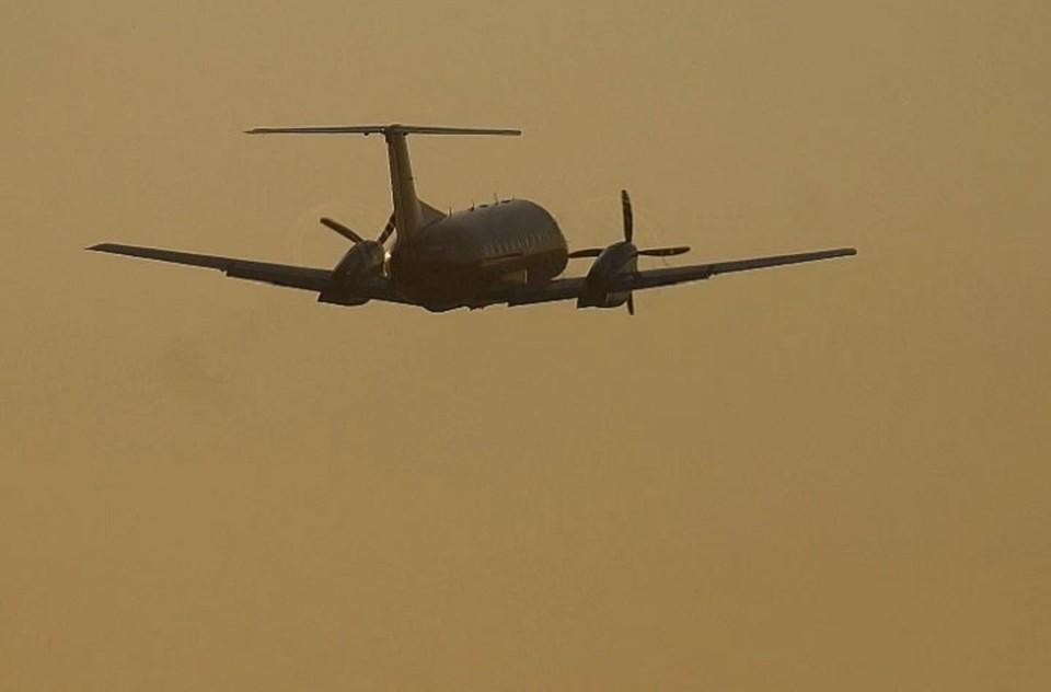 Самолет благополучно приземлился в Екатеринбурге