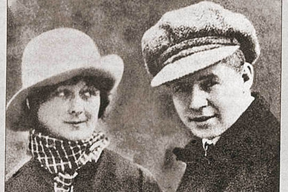 Сергей Есенин и Айседора Дункан.
